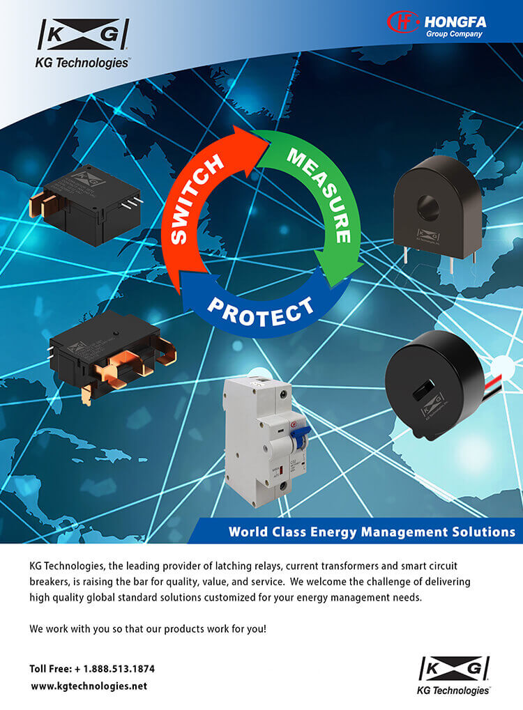 kg technologies advertisement brochure