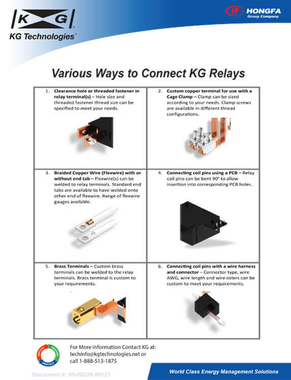 Various Ways to Connect to KG Relays